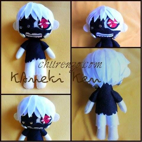 kaneki ken plush doll