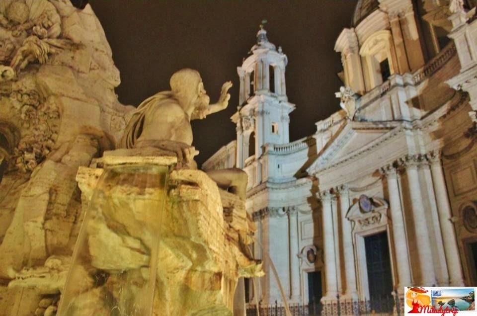 Monumento a Víctor Manuel II, Panteón y Piazza Navona: Roma día 1 (II)