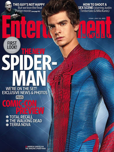 O Espetacular Homem-Aranha - Capa da Entertainment Weekly