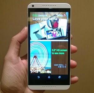 harga terbaru HTC desire 816