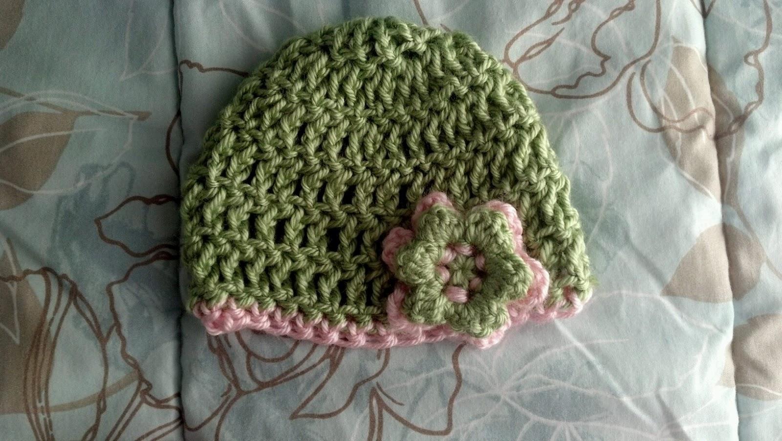 The Knitless Knitter: Free Pattern- Triple Crochet Newborn ...