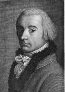 Johann Heinrich Lips - zelfportret