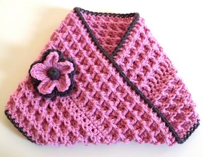 CROCHET KEYHOLE SCARF PATTERN – Crochet Club