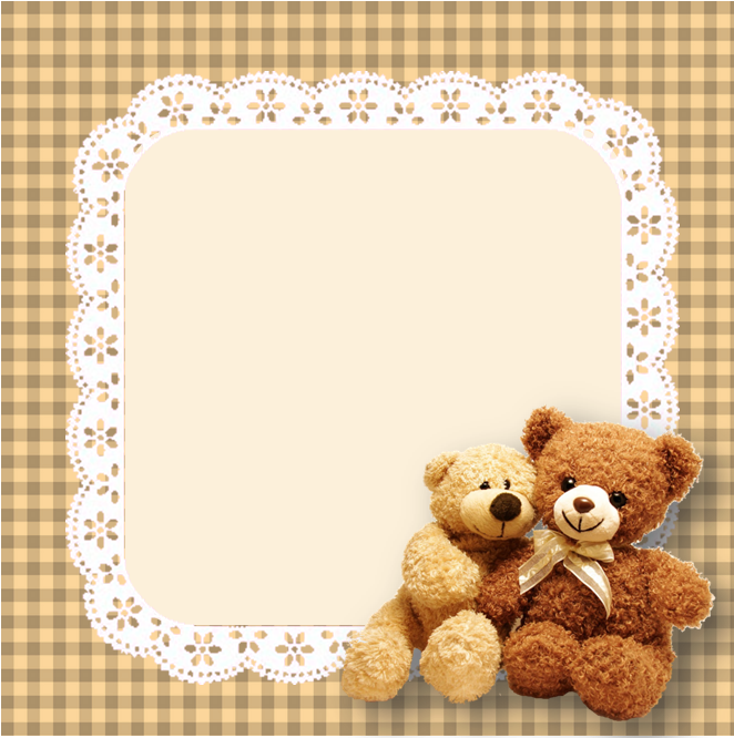 Sticky Note Widget Teddy Bear