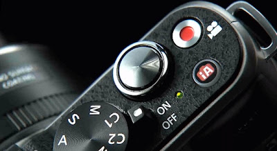 Fotografia della Panasonic GX1