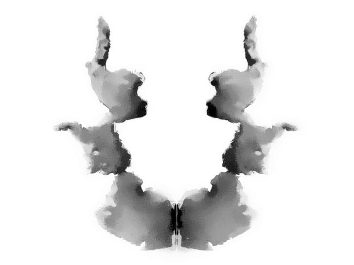Lámina de Rorschach 7