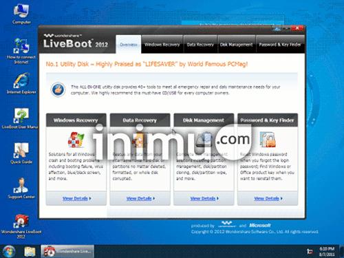 wondershare-liveboot-2012-desktop
