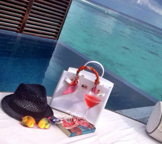 Bag of the Moment : The beach jelly birkin - Ghadeer's | Saudi ...