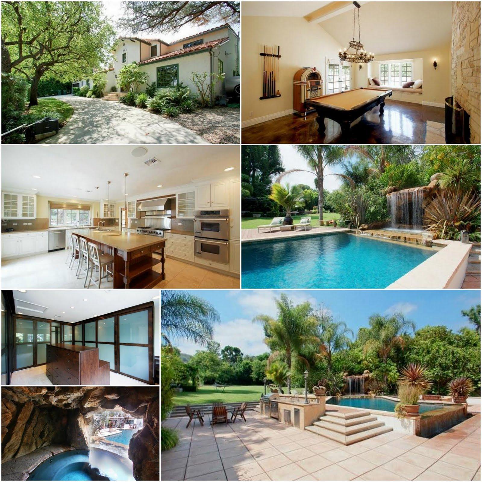 Celebrity real estate pink lists in sherman oaks san Celebrity real estate pictures