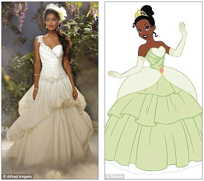 Disney Wedding Gowns on The Dream Becomes Reality  Disney And Bridal Gown Designer Alfred