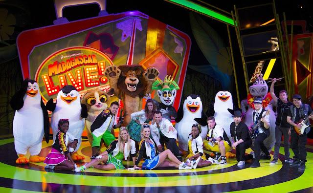 Show Madagascar Busch Gardens Orlando