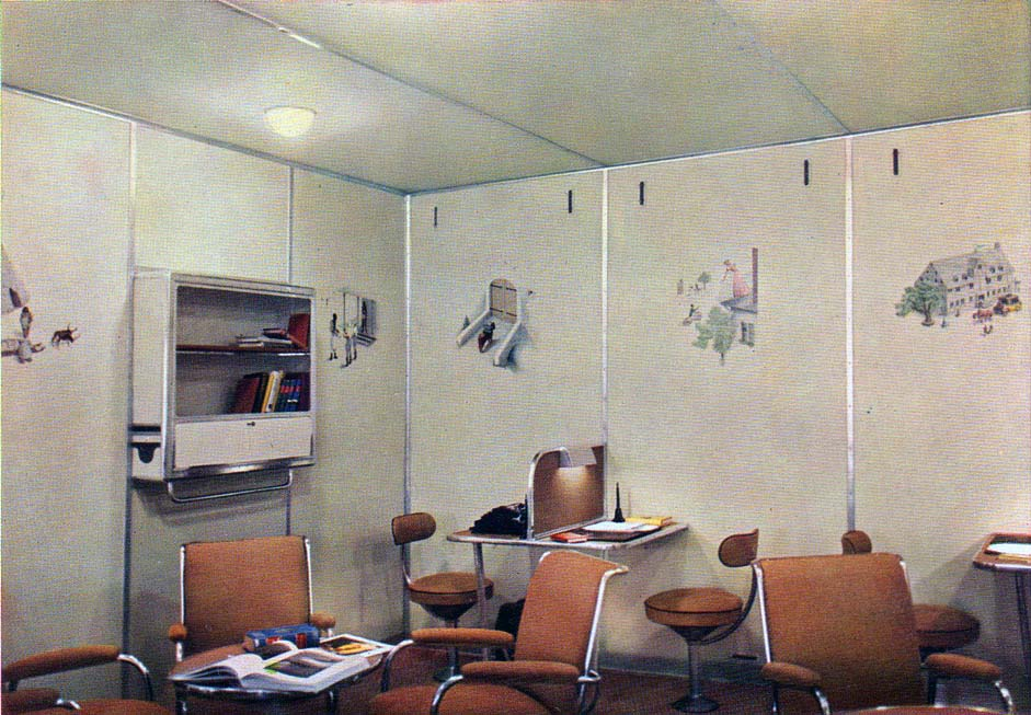 Daily Lazy Inside The Hindenburg In Color