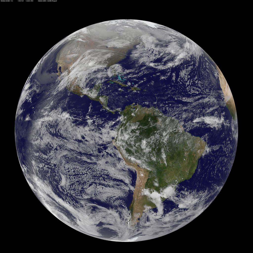 Descubre Tu Mundo As 237 Luce La Tierra Desde El Espacio El
