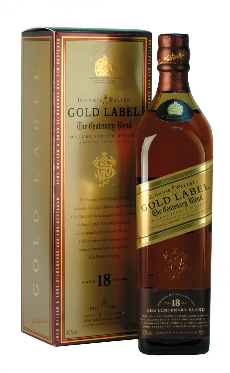Johnnie Walker Gold Label Wine
