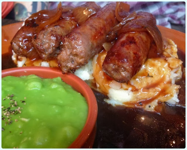 Trembling Madness, York - Bangers and Mash