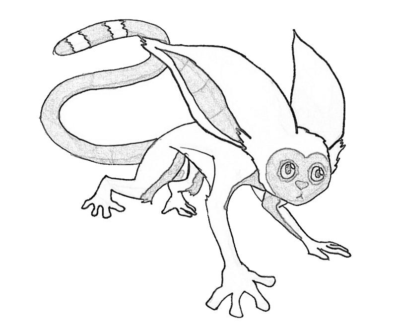 momo-hunting-coloring-pages