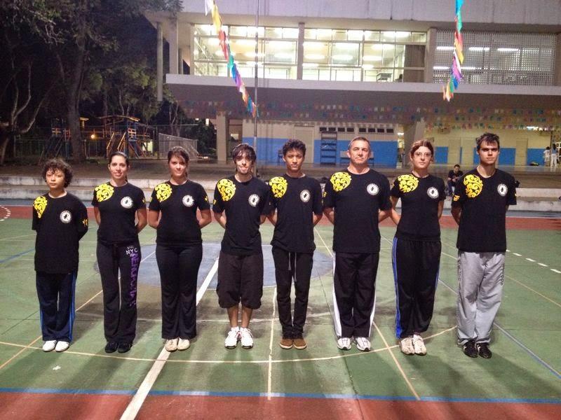A Escola de Wushu de Brasília