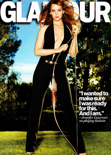 Jennifer Lawrence- Glamour US & UK Magazine Scans- 12 Pics