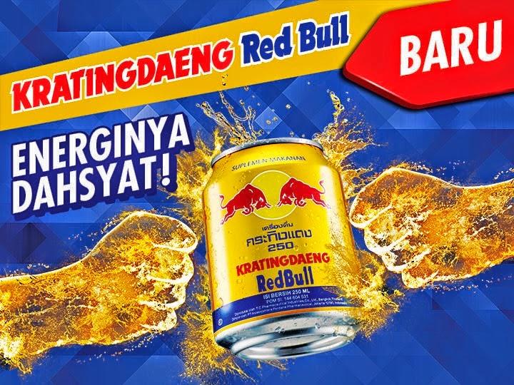 Kemasan Terbaru Kratingdaeng RedBull kaleng