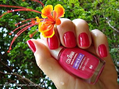 Esmalte Colorama Rosa Chiclete