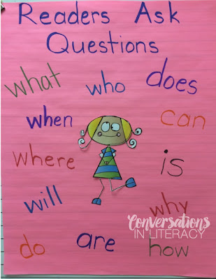 Questioning the Text activity and anchor chart