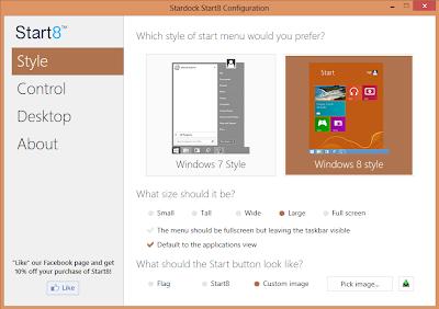 how to add start menu in windows 8