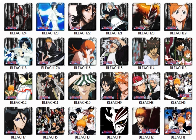 Bleach Folder pack icon