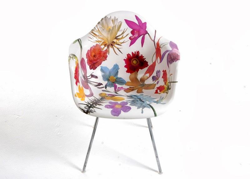 clasicos del diseno industrial reinterpretados silla Eames