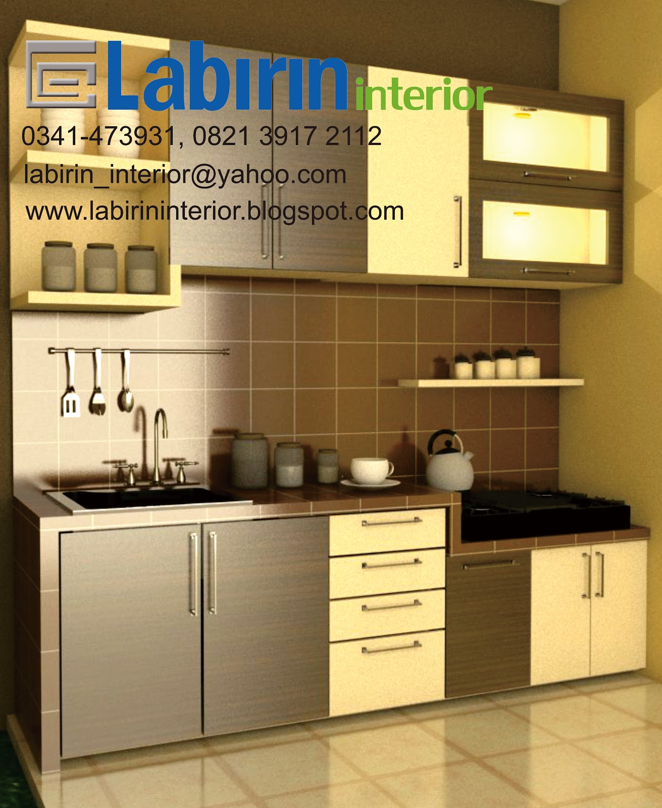 Kitchen set murah hanya 9 juta kitchen set minimalis for Paket kitchen set murah