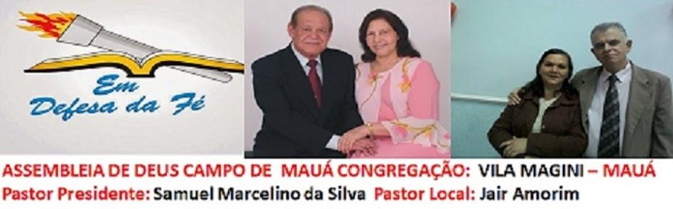 Igreja Assembléia de Deus- Vila Magine - Mauá