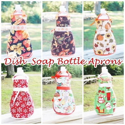 Dish Soap Bottle Aprons