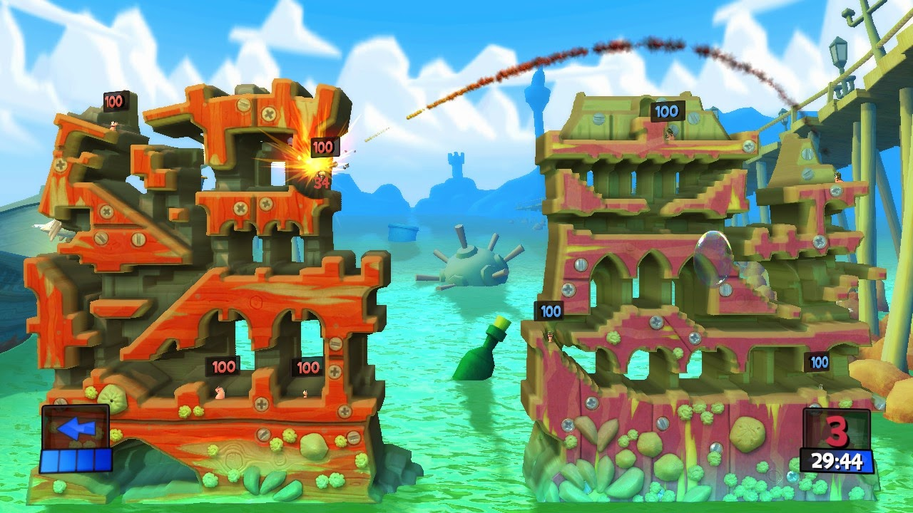 Worms Revolution Gold Edition review