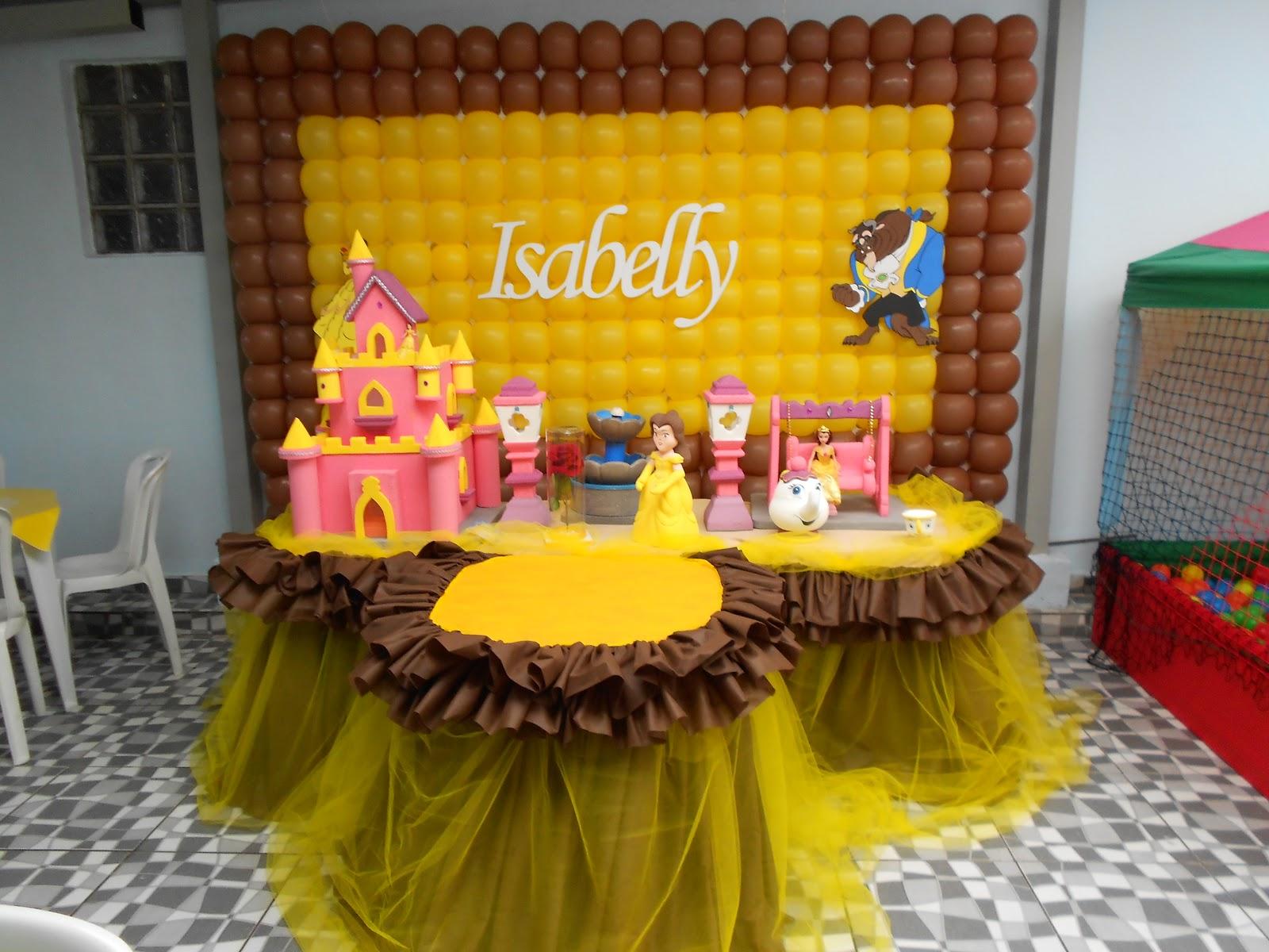 : Decoração Bela e a Fera 20/10/12 Festa da Isabelly #C1900A 1600 1200