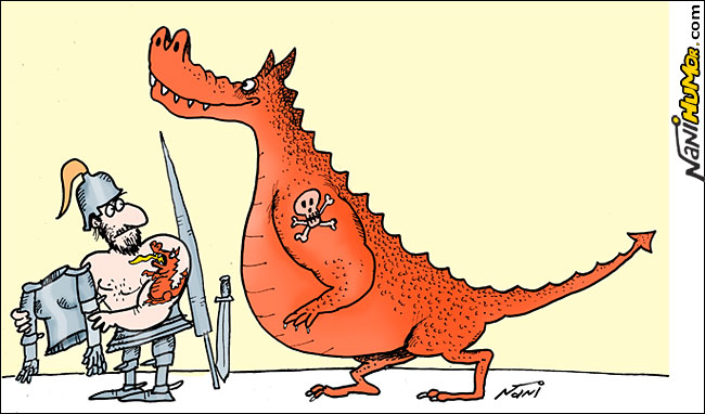 Nani Humor: São Jorge e o Dragão