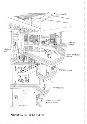 Brixton Rec interior architecture