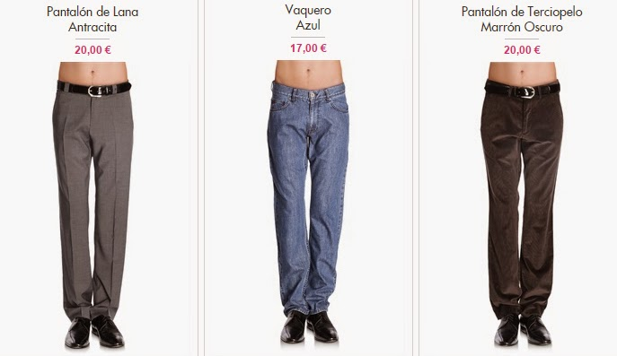Pantalones de marca Caramelo