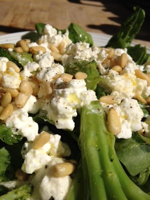 Smartmat Lun Brokkolisalat Med Cottage Cheese