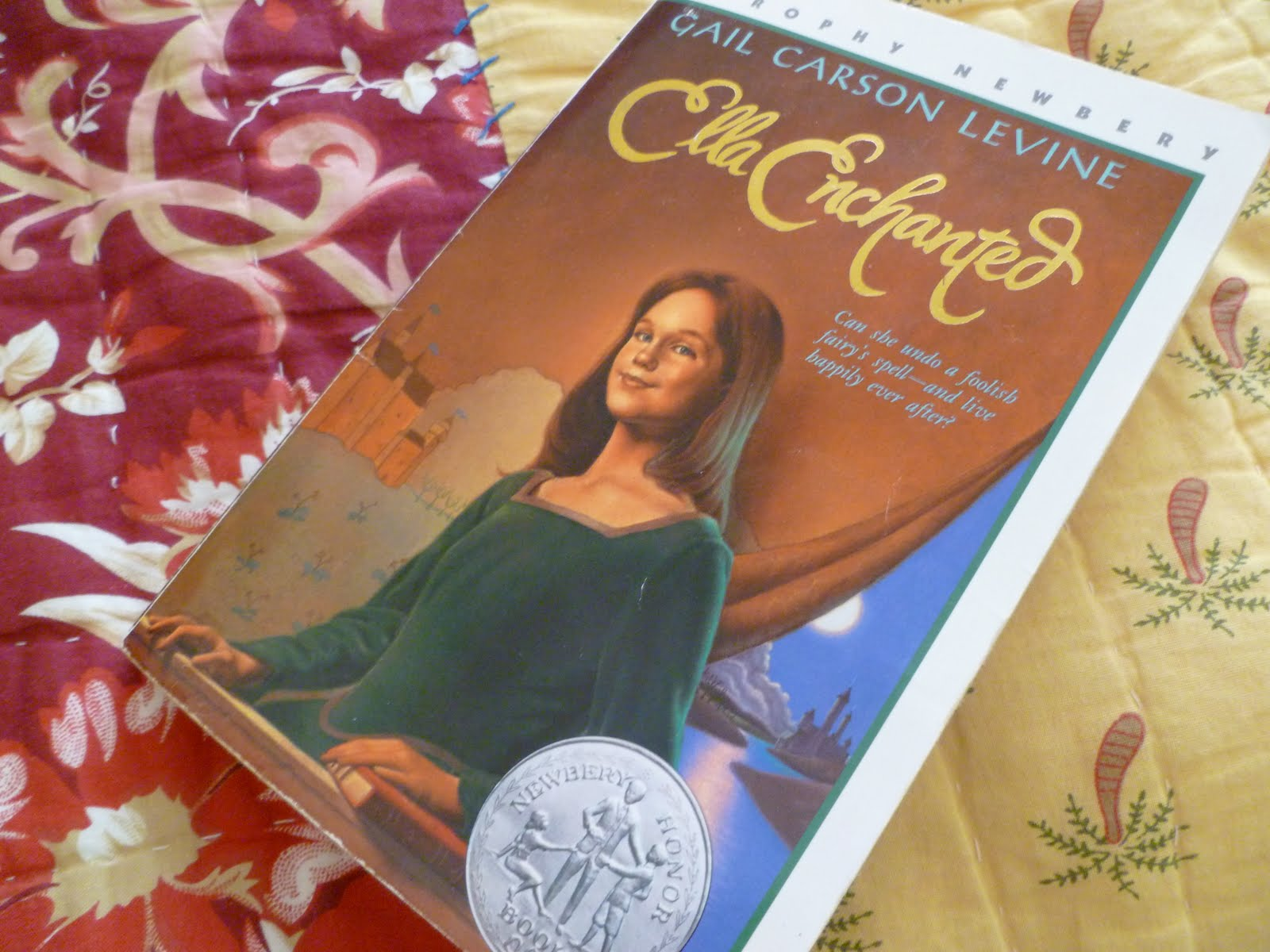 a reading report on ella enchanted by gail carson levine