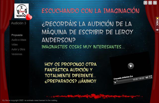 Escuchando con la imaginación - Audición 3