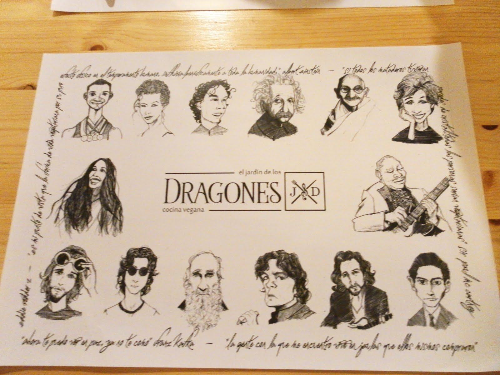 De veganeo el jard n de los dragones for El jardin de los dragones