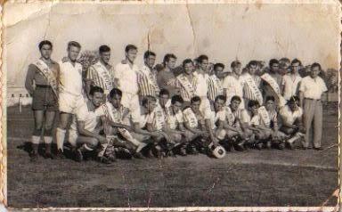 1965-Jogo em Itaqui Colocação de Faixas