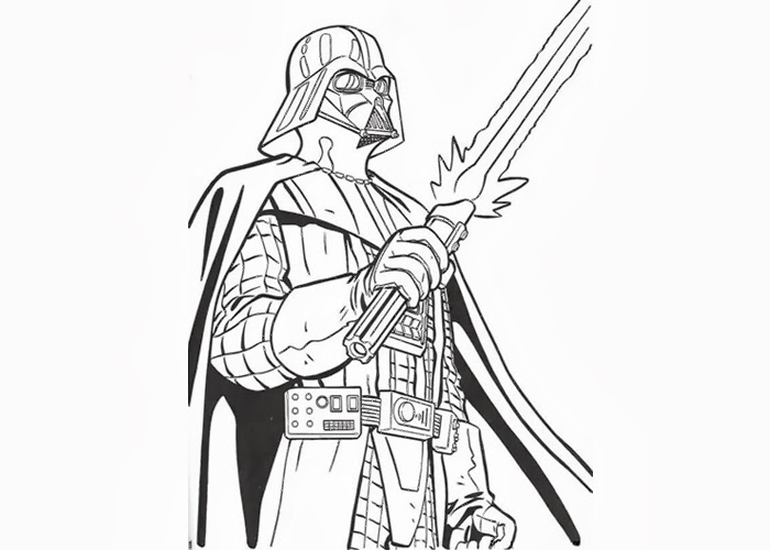 darth vader coloring pages - Darth Vader Coloring Pages