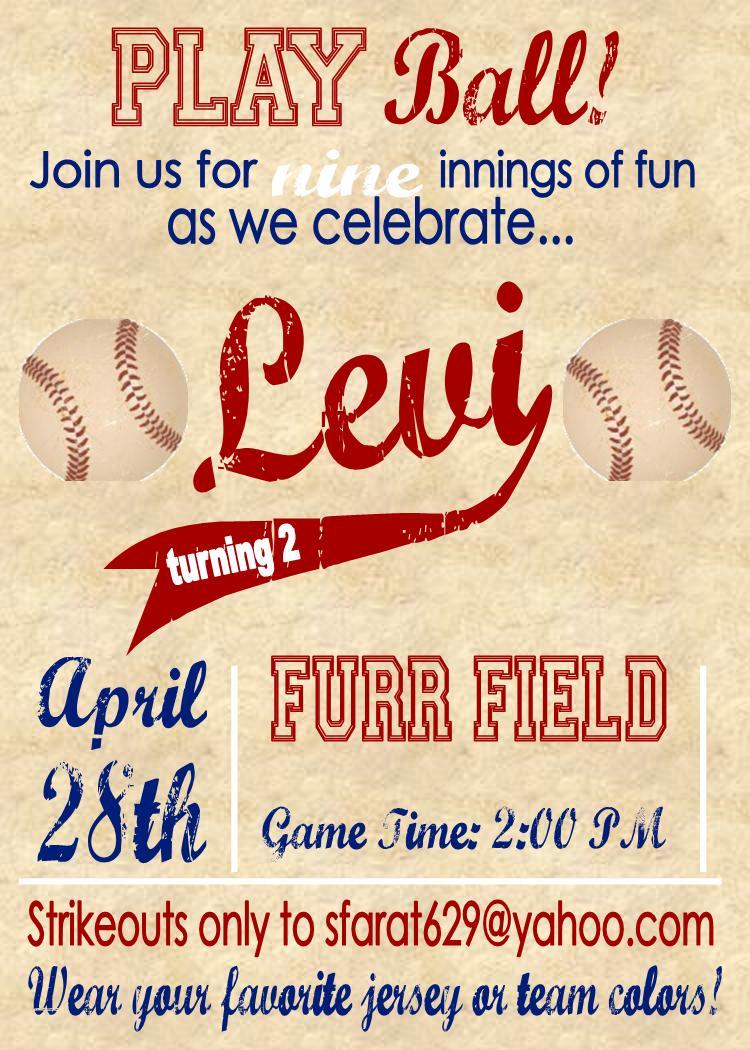 the furr five a backyard baseball birthday bash the decor