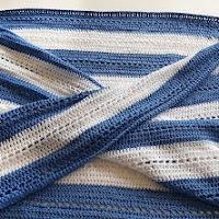 Gekruiste sjaal/omslagdoek
