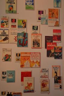 Historia de Salvador - capas de livros de Jorge Amado