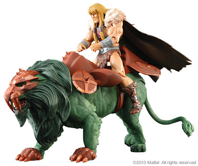 Mattel Matty Collector Masters of the Universe Classics Battle Lion - 2014 Subscription Figure