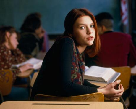 Angela, 15 ans Claire Danes ABC teen show My So-Called Life Bess Amstrong