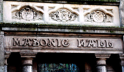 Symbols at Masonic Hall