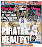 March Madness takes back page