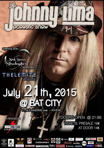 Johnny Lima acoustic show @ Bat City